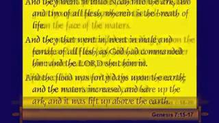 Chuck Missler -Genesis Session 12 Ch 7 8 The Flood