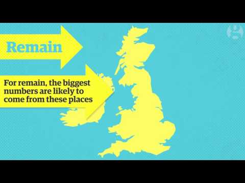 EU referendum: what will happen on the night? | Guardian Animations