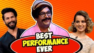 Rajesh Arora's Best Performance Ever with Shahid Kapoor and Kangana Ranaut | The Kapil Sharma Show