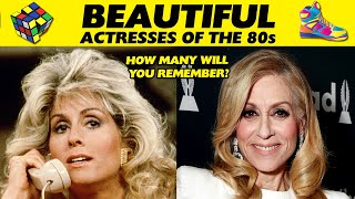 BEAUTIFUL TV ACTRESSES OF THE 80s THEN AND NOW