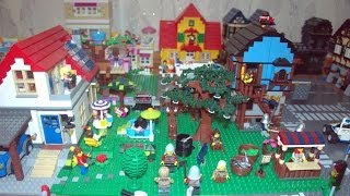 Наш первый LEGO город (first LEGO city) feb 2013