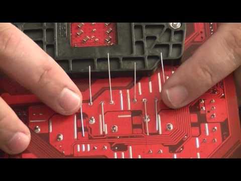 How To: Replacing bad capacitors on a motherboard! (MS-7207 / K8NGM2)