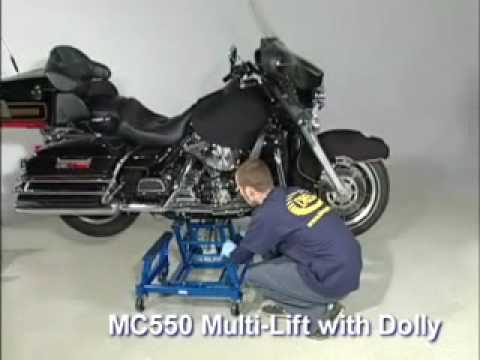 0 K&L Supply Co: Multi Lift with Shop Dolly (Motorcycle Jack and Accessories)