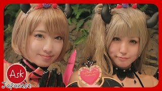 best MALE&FEMALE anime characters!! Ask Japanese COSPLAYERS