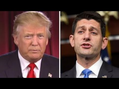 Trump: Paul Ryan is doing a good job of uniting the party