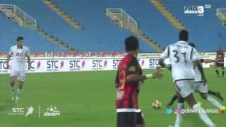 هدف الرائد الأول ضد الفيصلي (عبدالكريم القحطاني) في الجولة 6 من دوري جميل