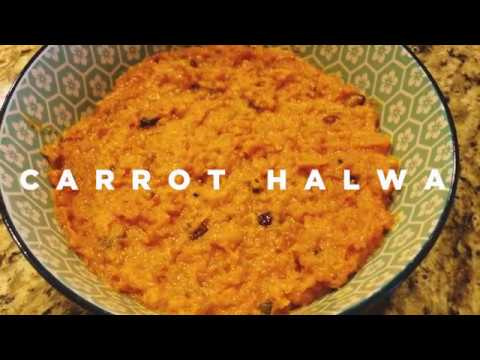 Carrot Halwa (Gajar Ka Halwa) - Easy Cooking Indian Recipe