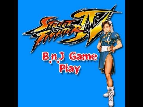 BnJ Gameplay + Street Fighter IV