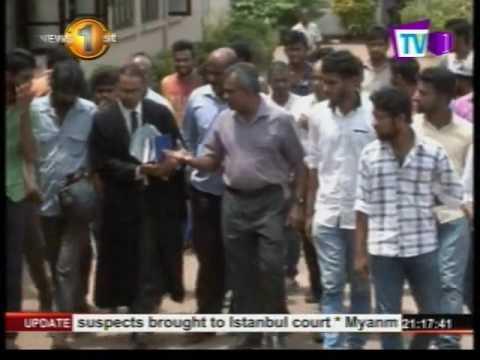 News 1st :Kelaniya, Jaffna university cases taken up