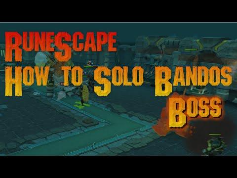 runescape bandos solo guide using magic