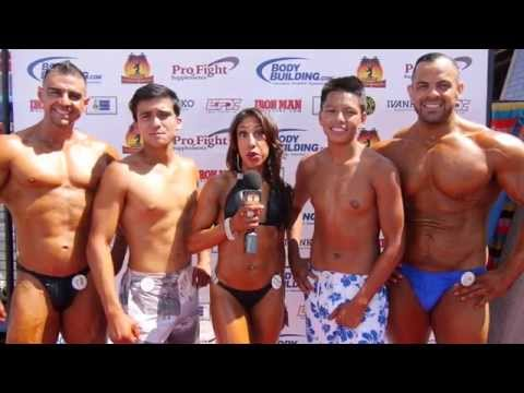 Muscle Beach Labor Day Highlights and Interviews Pt. 2