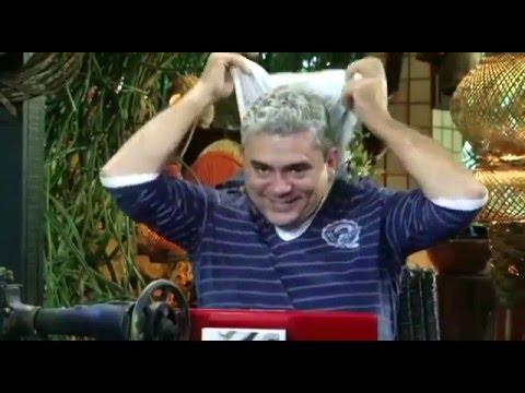 """Bráulio leva um susto com a """"gata"""" e explica as raízes do Bráulio... rs!"""