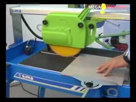 Pokaz pracy - przecinarka stołowa Sima Perla