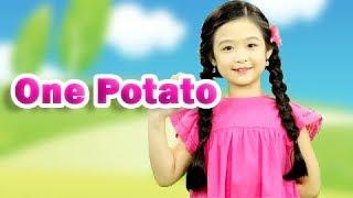 One Potato - Tập Đếm - Hai Con Thằn Lằn Con - Gà Mèo Và Cún 🌼Liên Khúc Nhạc Thiếu Nhi Bảo Ngọc