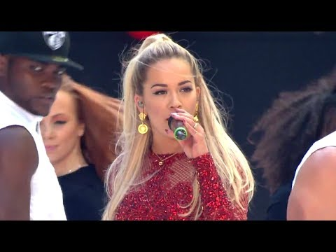Rita Ora - Rip   How We Do (summertime Ball 2014) video