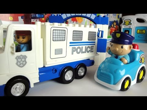 Мультик про полицейские машины. Кража машины. Police car