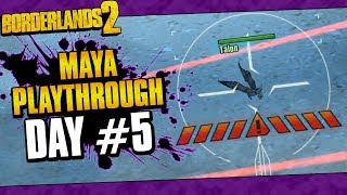Borderlands 2 | Maya Reborn Playthrough Funny Moments And Drops | Day #5