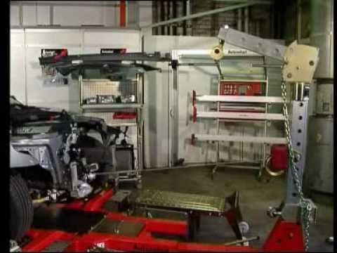 Стапель кузовного ремонта своими руками