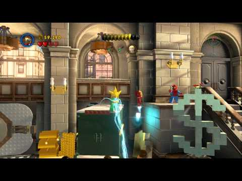LEGO Marvel Super Heroes - A Shock Withdrawal 100% Guide (Red Brick
