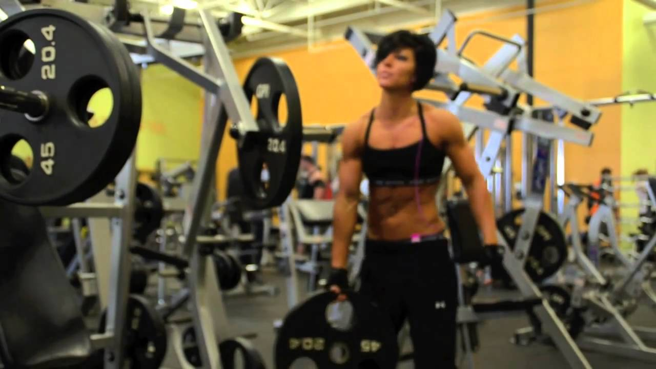 Dana Linn Bailey Training Chest Youtube
