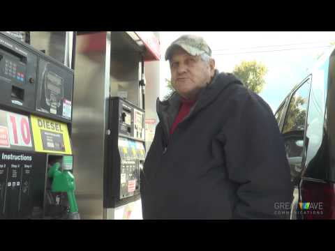 Gasoline drops below $3 a gallon October 2014