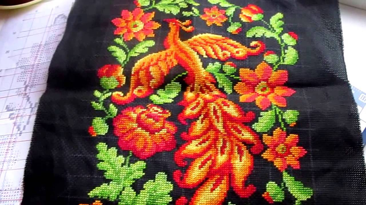 Вышивка крестом жар птица набор 76