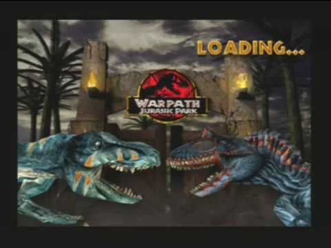 Jurassic Park Warpath: T-Rex Vs Cryo