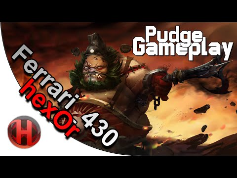 Dota 2 - Pudge Gameplay | iG.Ferrari_430 & hexOr