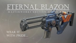Destiny 2 - Eternal Blazon Masterworks - PVP Gameplay Review