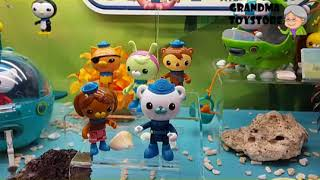 Unboxing TOYS Review/Demos - fisher price submarine exploration crew toyset