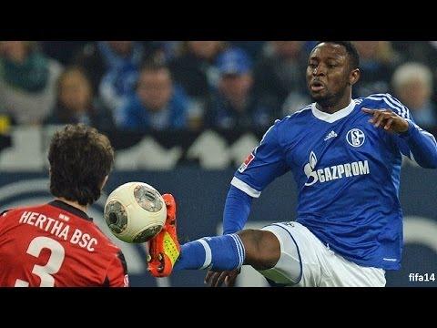 FC Schalke 04 - Hertha BSC Berlin 2-0 | Bundesliga 28. Spieltag | 28. März 2014 | pes14