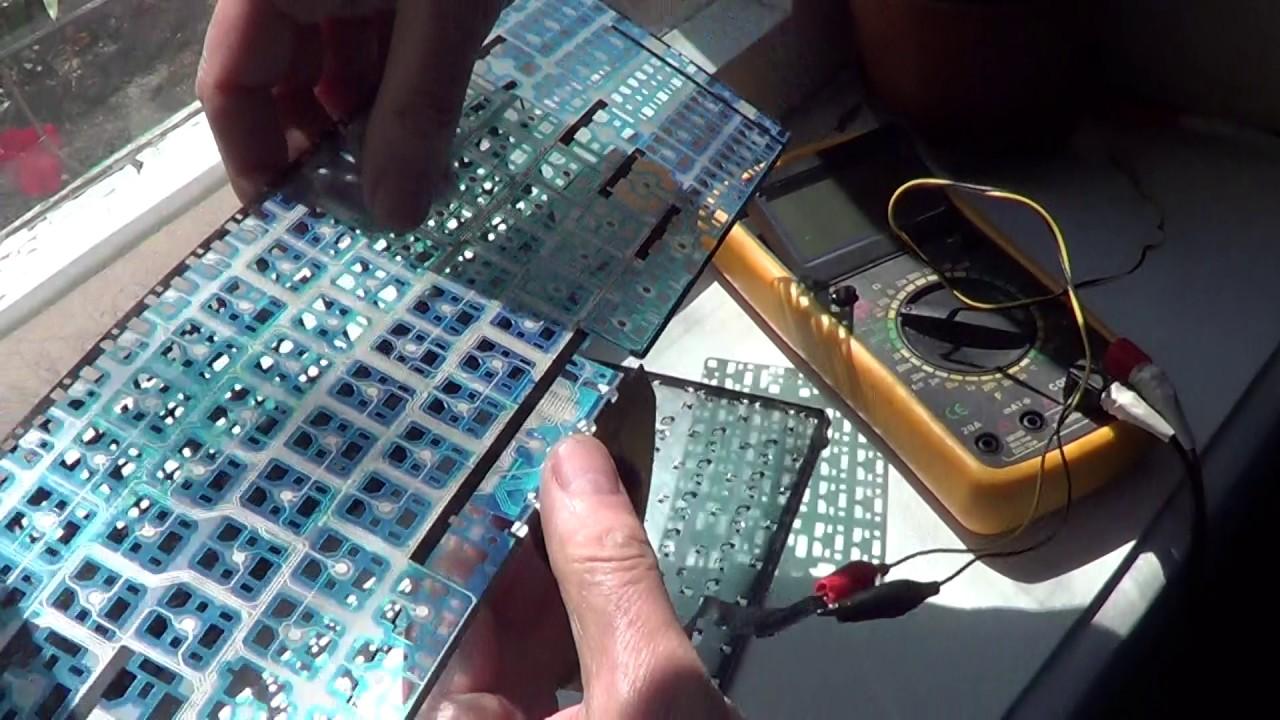 Ремонт кнопок клавиатуры своими руками 33