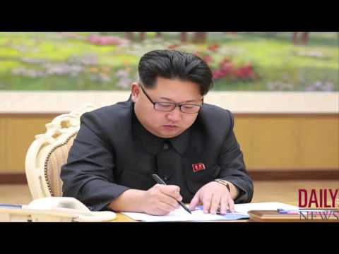 North Korea bomb test was self defence says Kim Jong-un GMT 10 Jan 2016