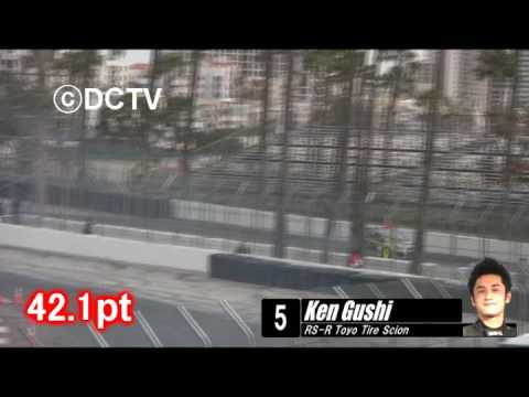 2009 Formula D Round1 LongBeach Qualify(JapaneseDriver) Video