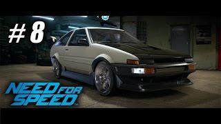 Need for Speed - Gameplay Español - Capitulo 8 - Toyota AE86 (Hachiroku) - 1080pHD