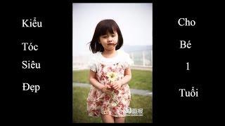 kiểu tóc ngắn cho bé gái 1 tuổi