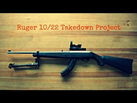 Ruger 10/22 Takedown Project - Part 3