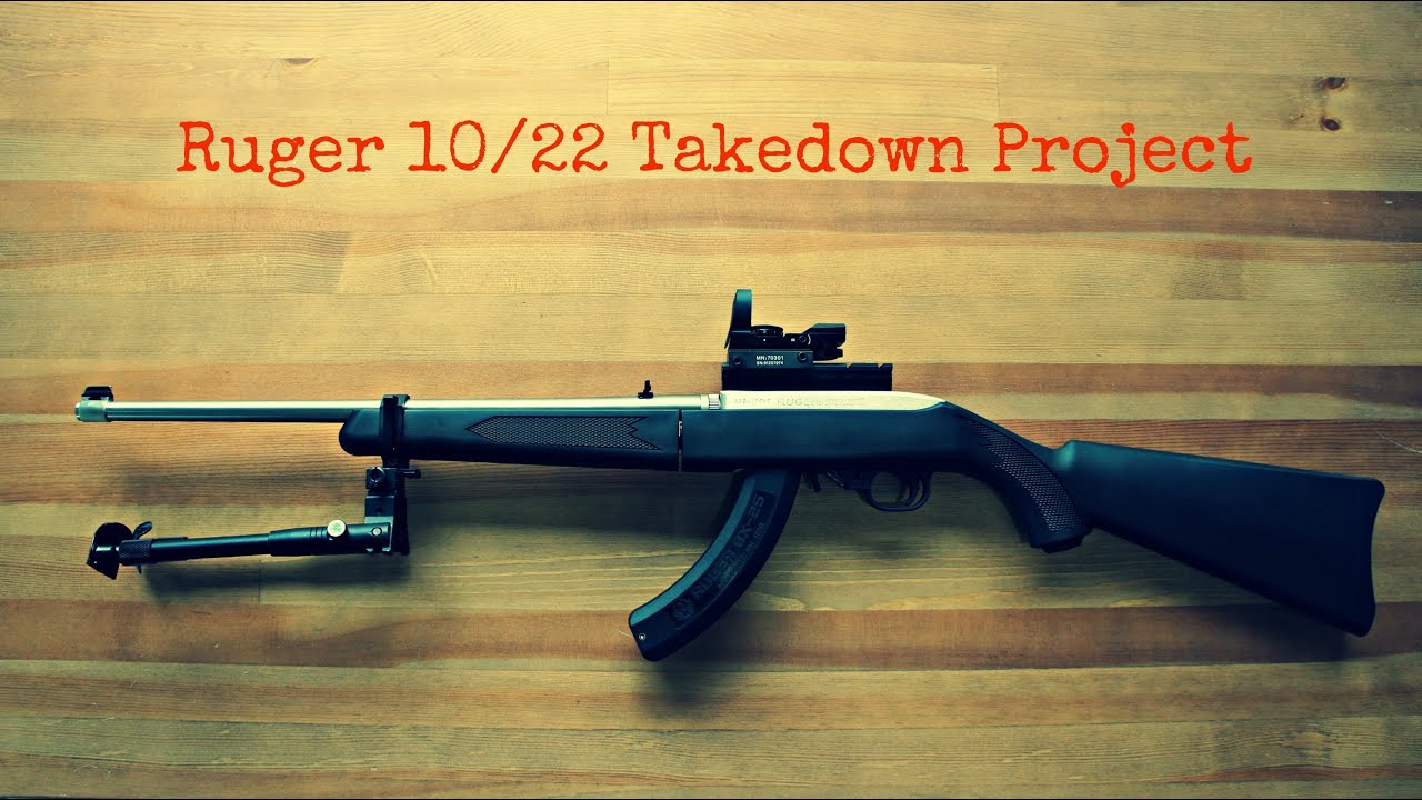 Ruger 10 22 takedown project part 3 youtube