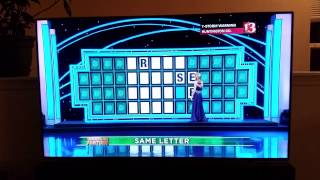 Best contestant EVER on Wheel of Fortune