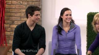 Tessa Virtue & Scott Moir on Marilyn Denis