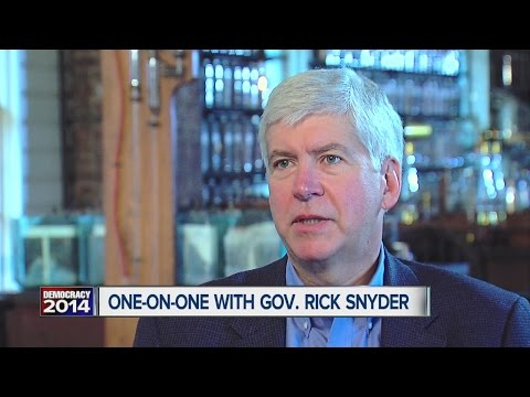 INTERVIEW: Rick Snyder (R) - Candidate for Michigan Governor