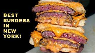 The BEST BURGERS in New York! KIMCHI Wagyu Burger | STEAKHOUSE Burger