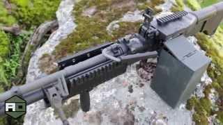David Crane Runs U.S. Ordnance M2HB-QCB .50 BMG Heavy Machine Gun (HMG)  for DR, Part 1