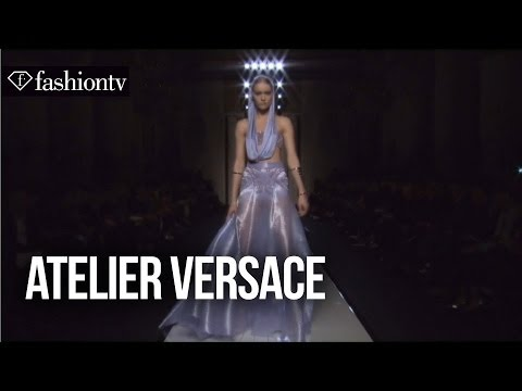 Atelier Versace Spring summer 2014 Ft Lady Gaga | Exclusive | Paris Couture Fashion Week | Fashiontv video