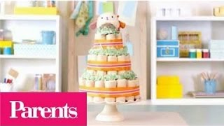 Baby Shower Ideas - How to Make a Diaper Cake