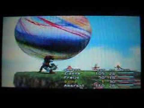 Final Fantasy IX - Level 1 Party VS Ozma