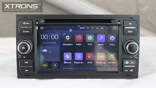 Xtrons PF75QSFA-B   Android 5.1 Lollipop Driving Entertainment System