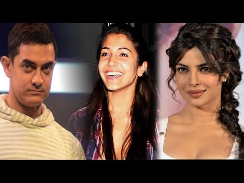 Aamir Khan shops for Anushka Sharma in Varanasi, Priyanka Chopra unwell