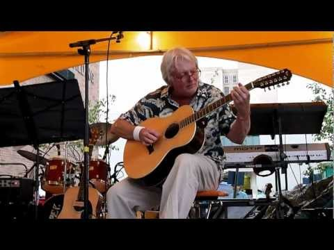 Jack Wilce - Twelve String Solo - Lima, Ohio - July 27, 2012