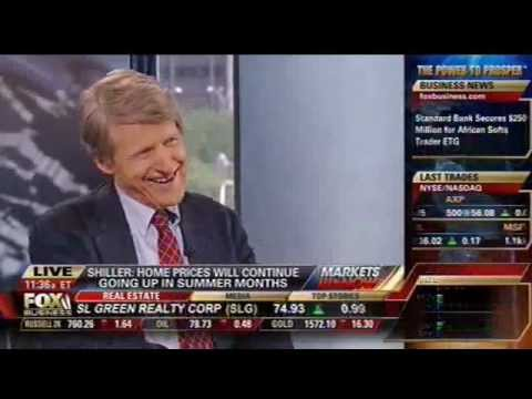Robert Shiller on Rising Home Prices